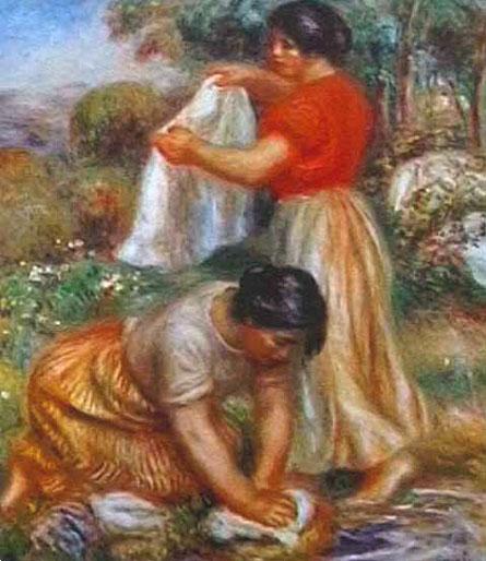 Les laveuses - Renoir