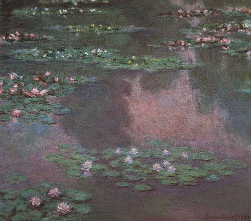Les nénuphars - Monet