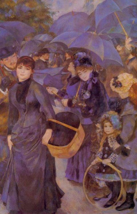 Les parapluies - Renoir