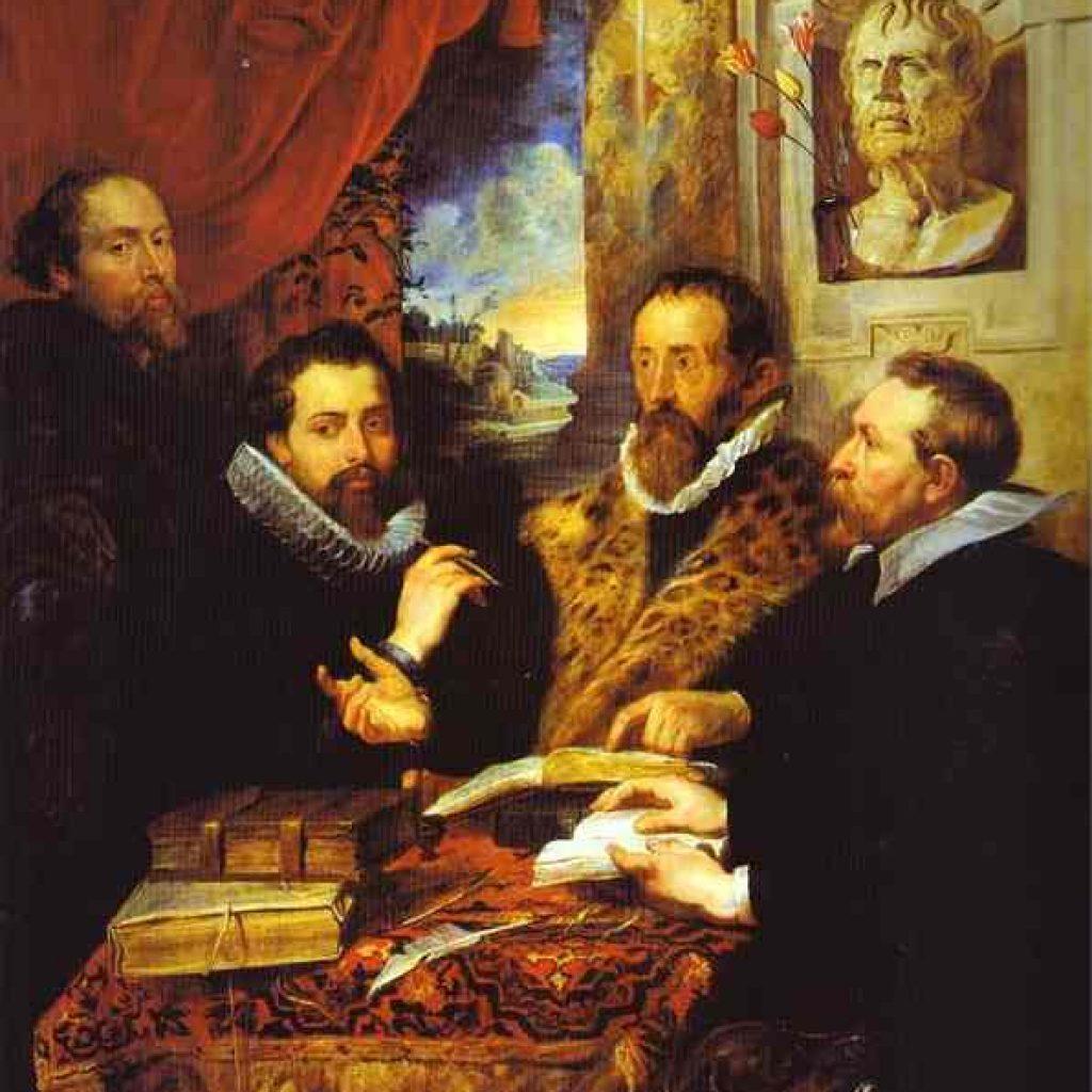 Les quatres philosophes - Rubens