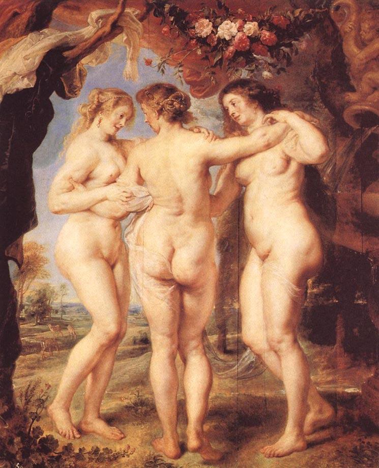 Les trois Grâces - Rubens