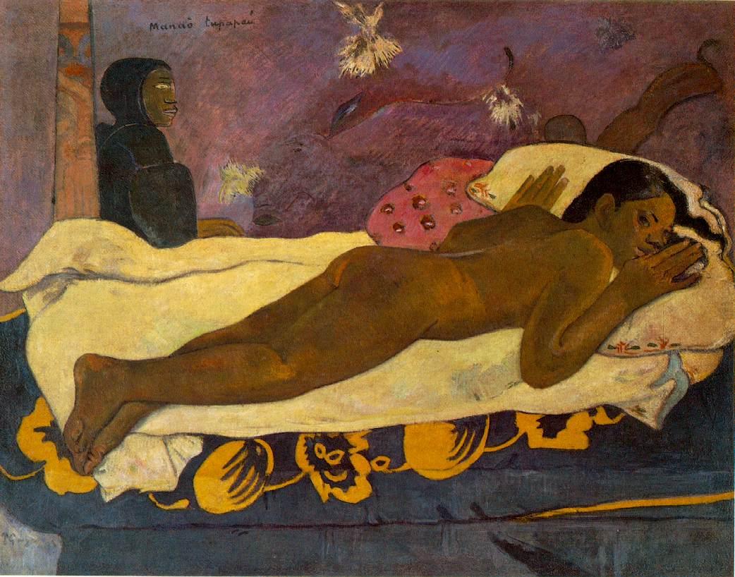 L'esprit des morts veille (Manao tupapau) - Gauguin