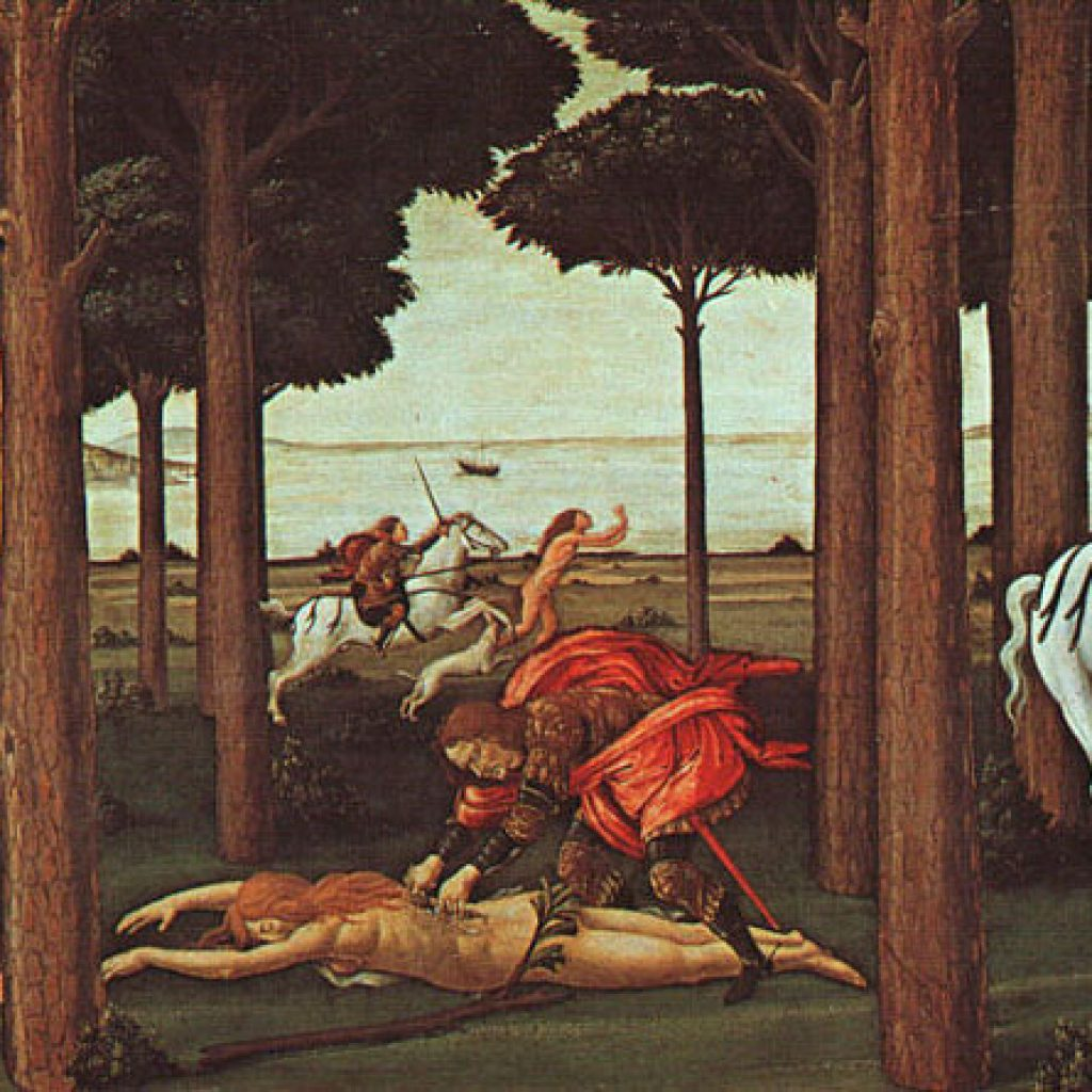 L'histoire de Nastagio degli Onesti (2ème épisode) - Botticelli
