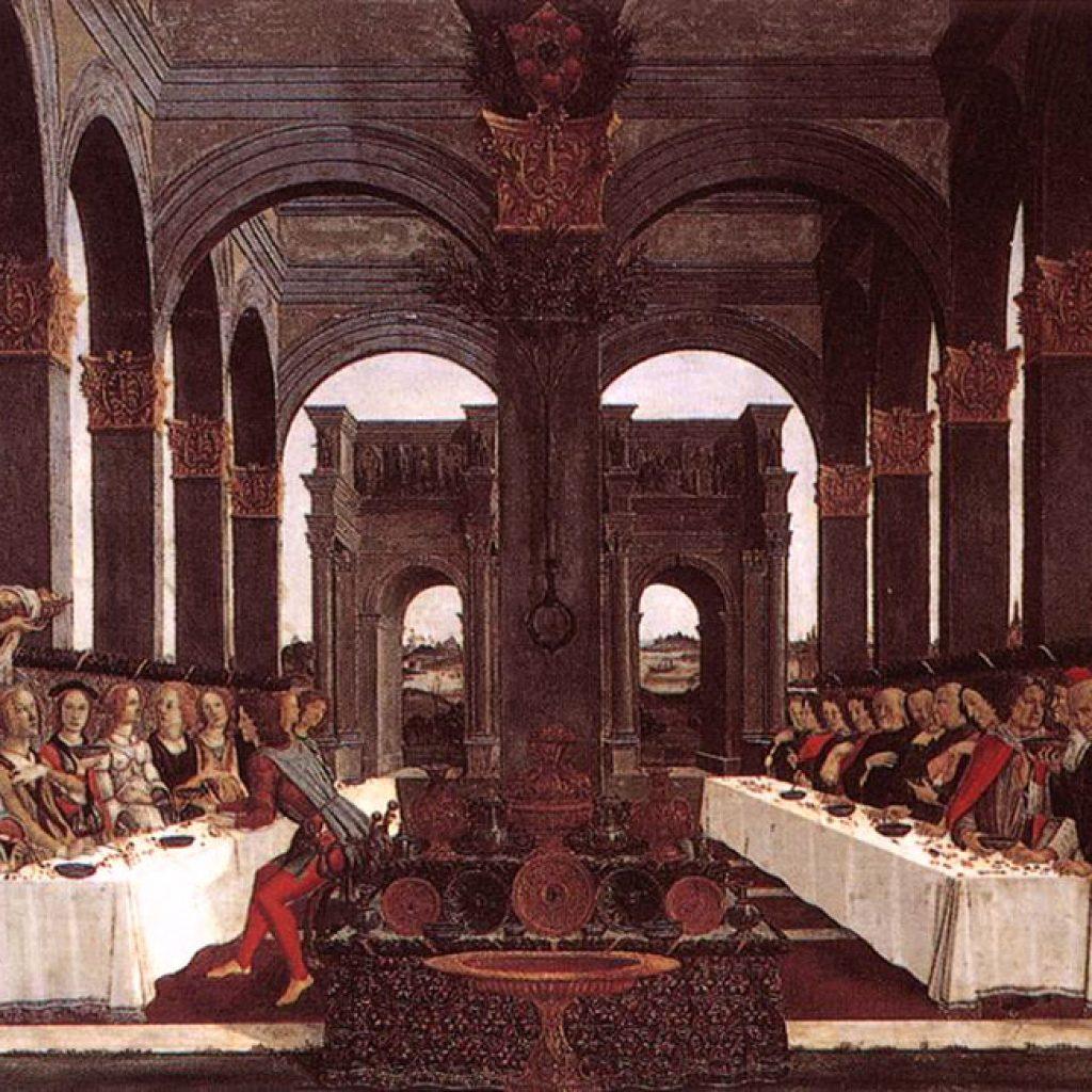 L'histoire de Nastagio degli Onesti (4ème épisode) - Botticelli