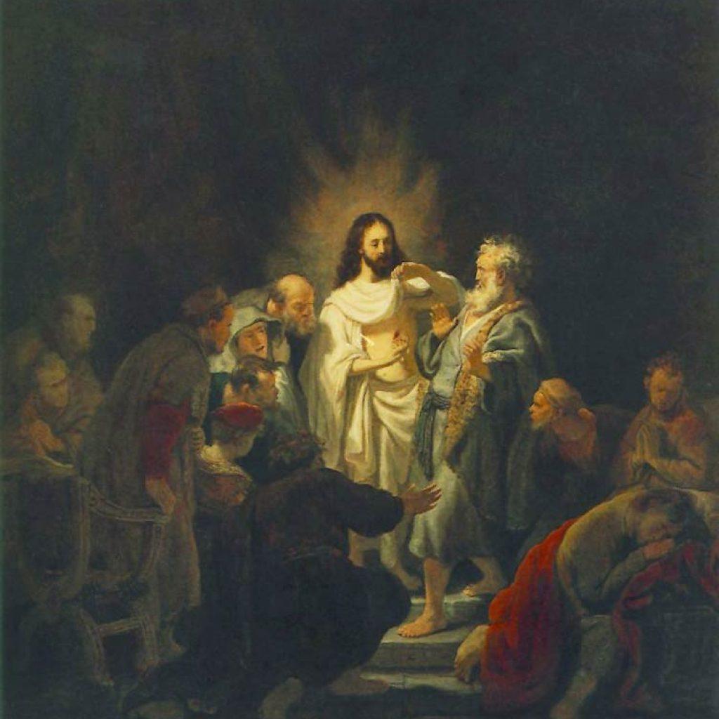 L'incrédulité de Thomas - Rembrandt
