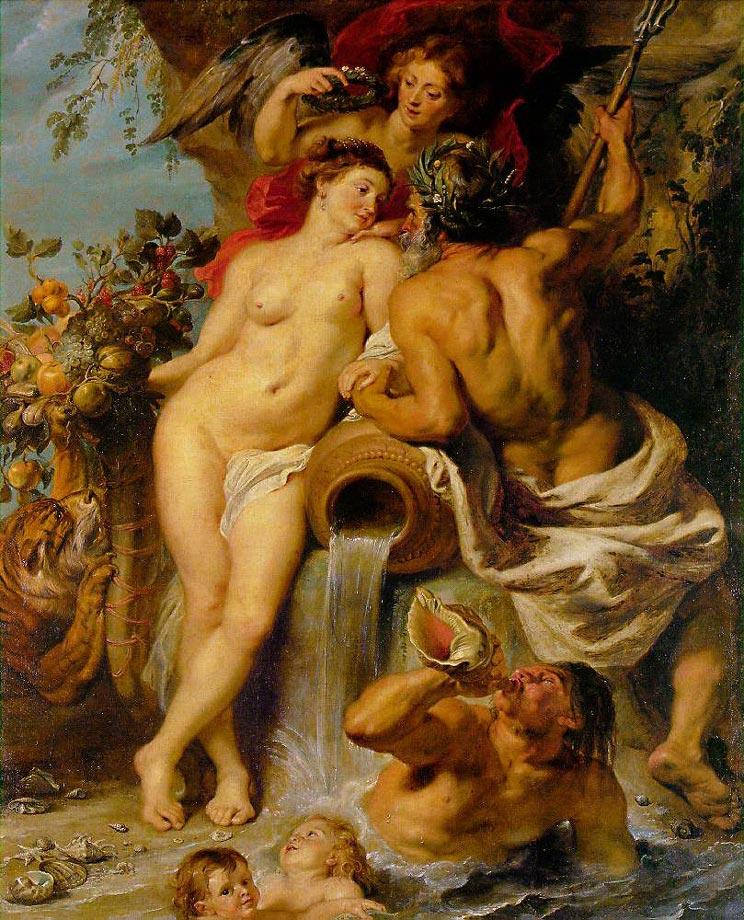 L'union de la terre et de l'eau - Rubens