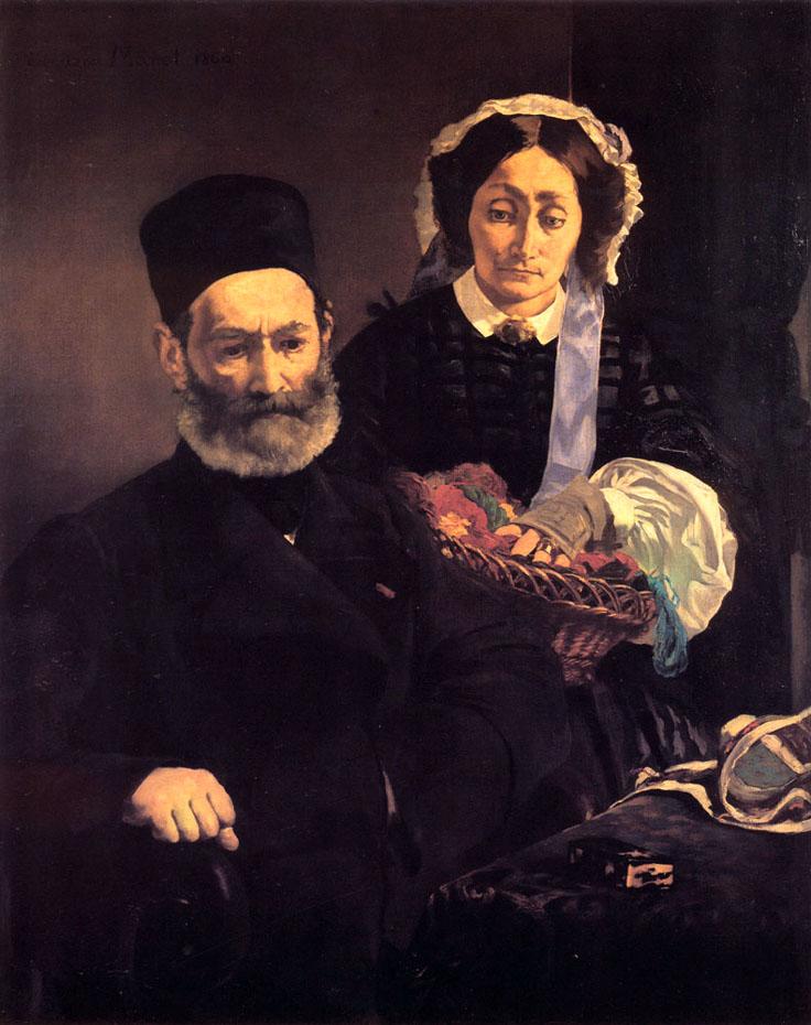 M. et Mme Auguste Manet - Manet