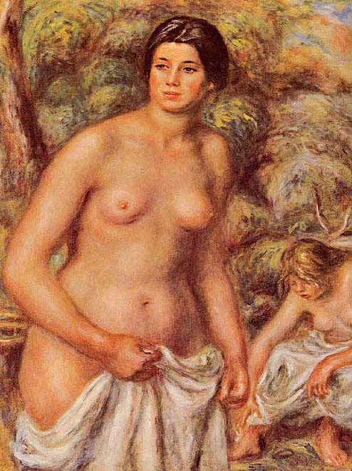 Madeleine Bruno ou les deux baigneuses - Renoir
