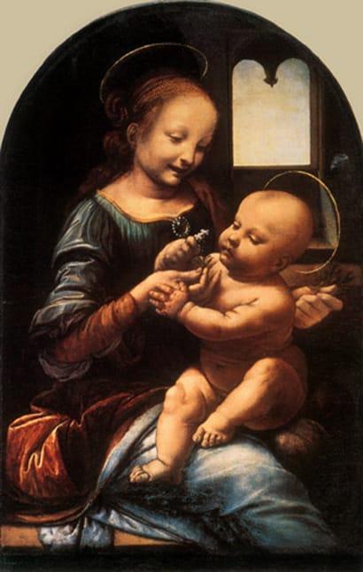 Madone Benois - De Vinci