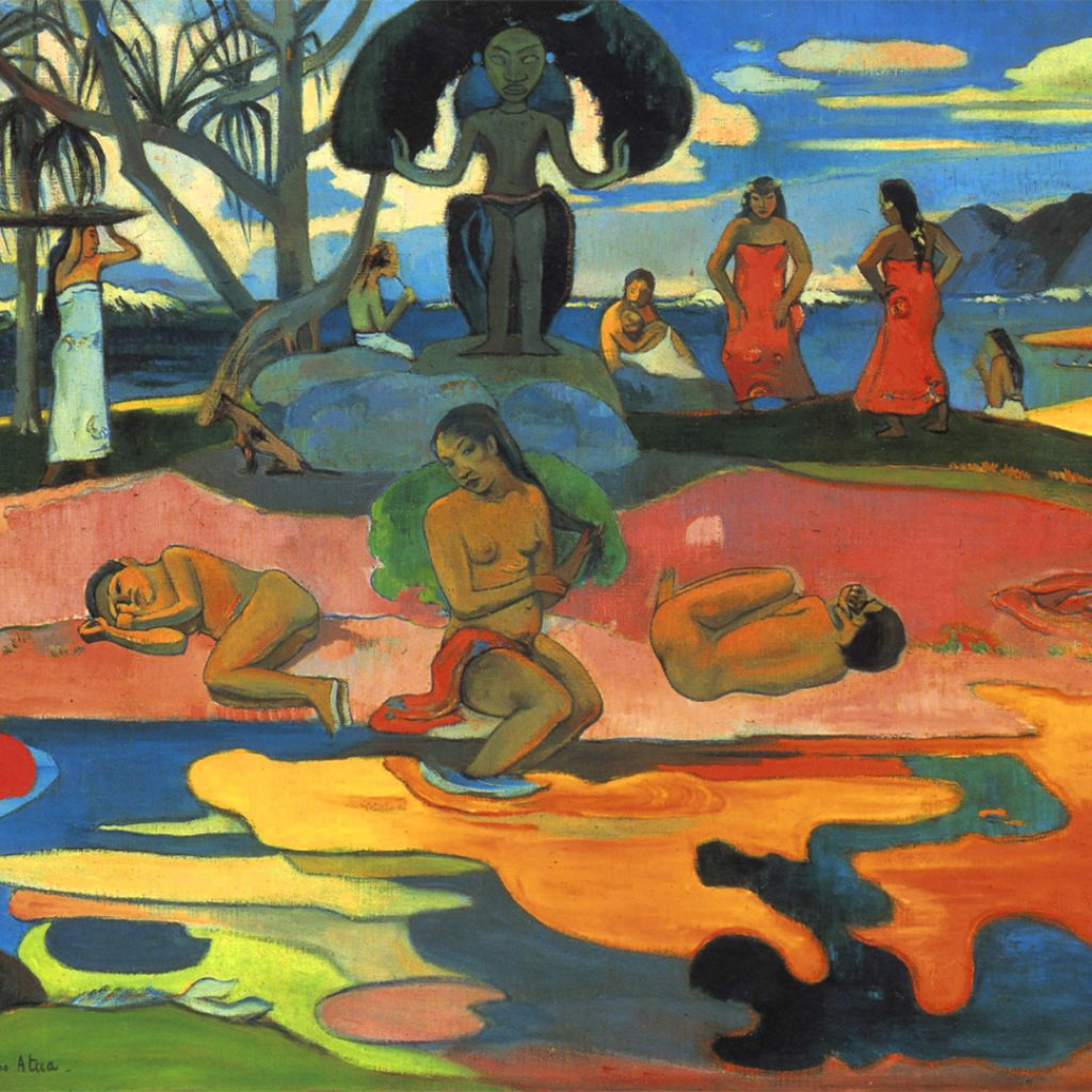 Mahana no atua - Gauguin