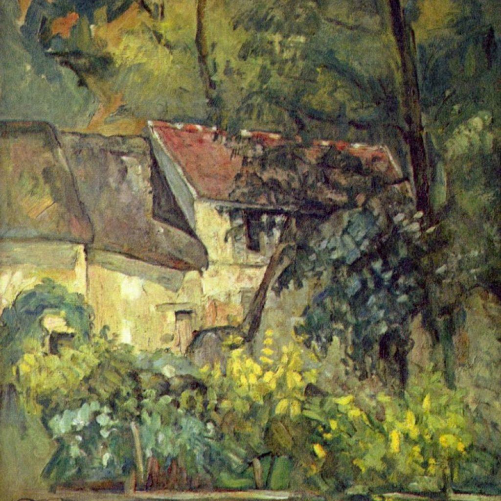 Maison du père Lacroix - Cézanne