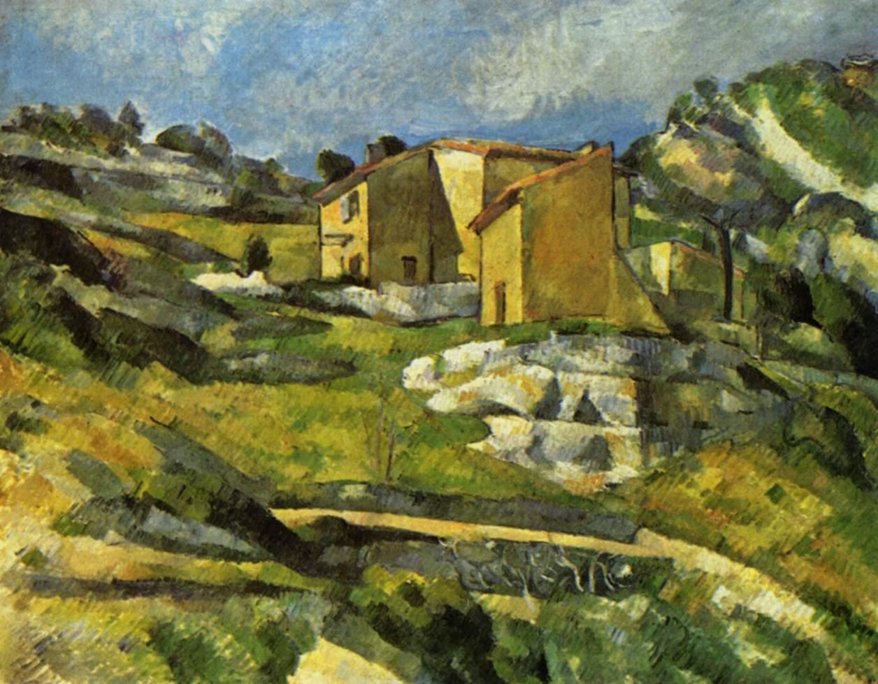 Maison en Provence - Cézanne