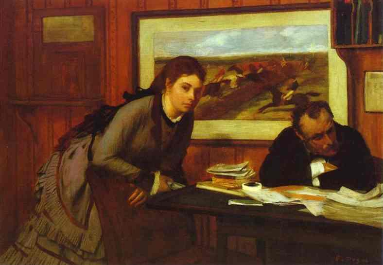 Mauvaise humeur - Degas
