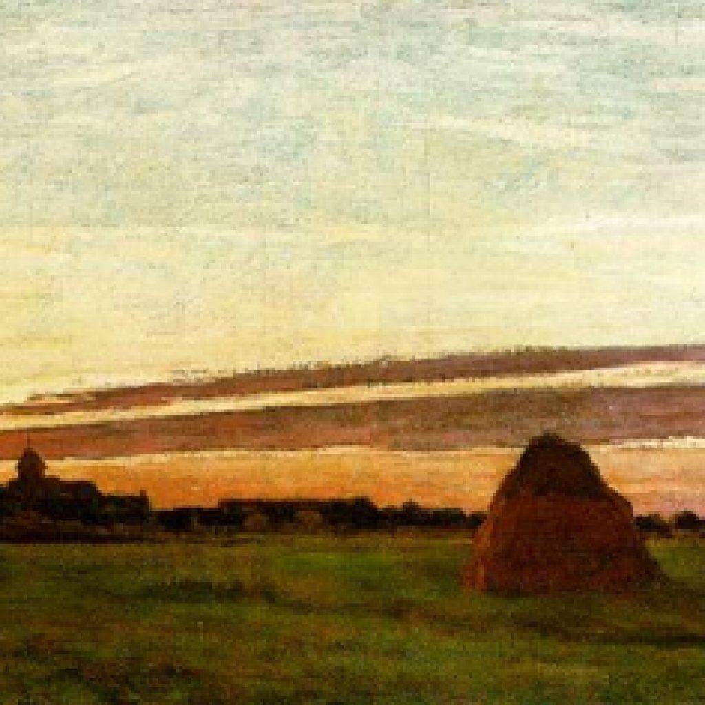 Meules à Chailly - Monet