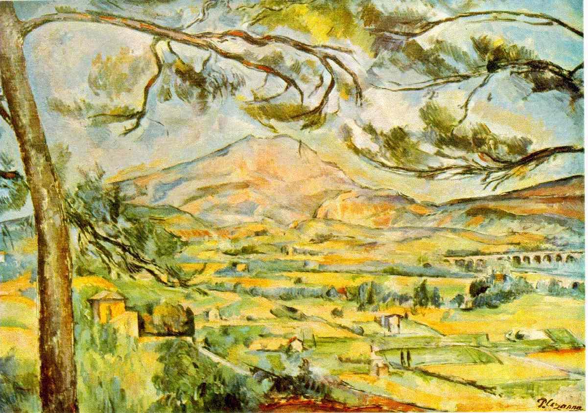 Le Mont Sainte-Victoire - Cézanne
