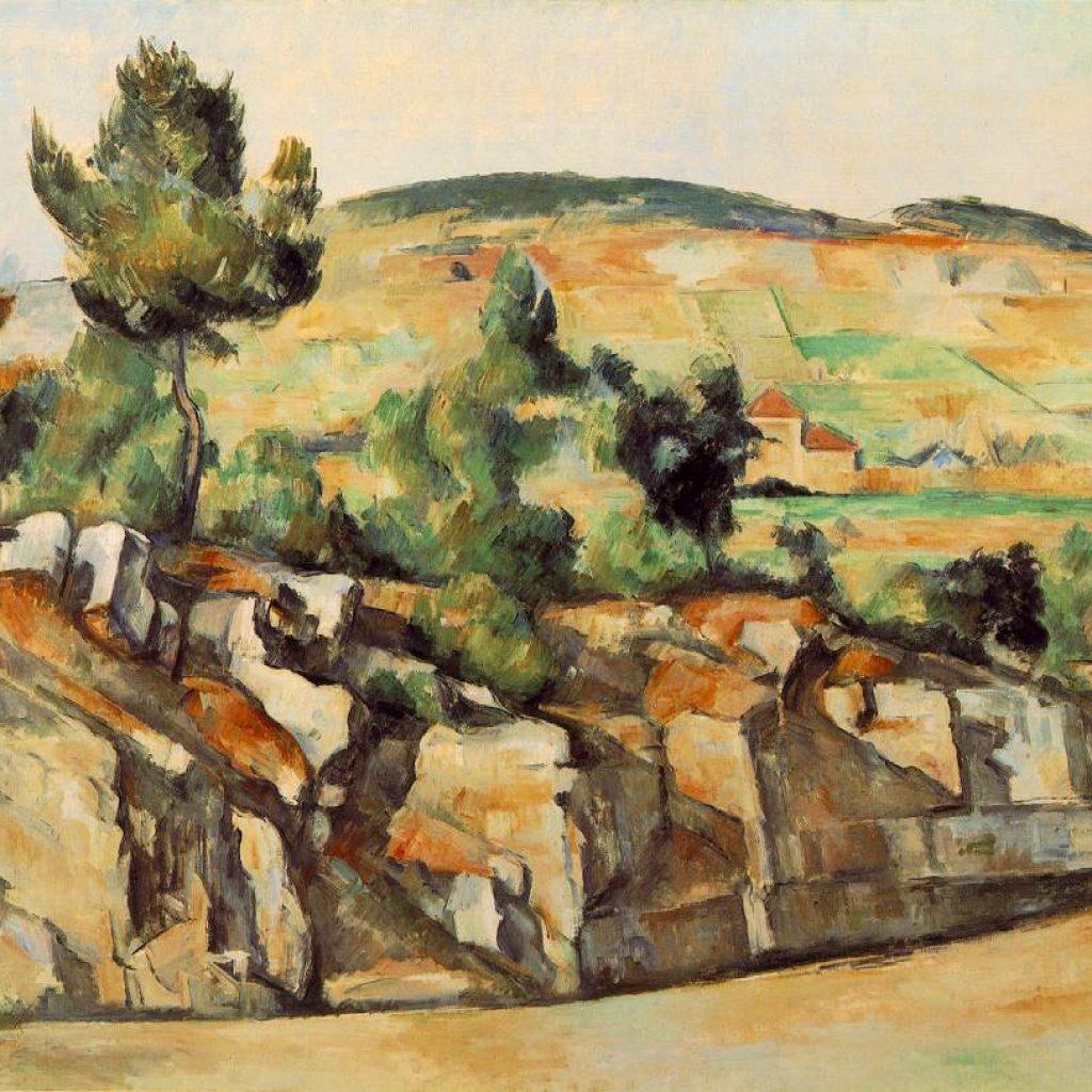 Montagnes en Provence - Cézanne