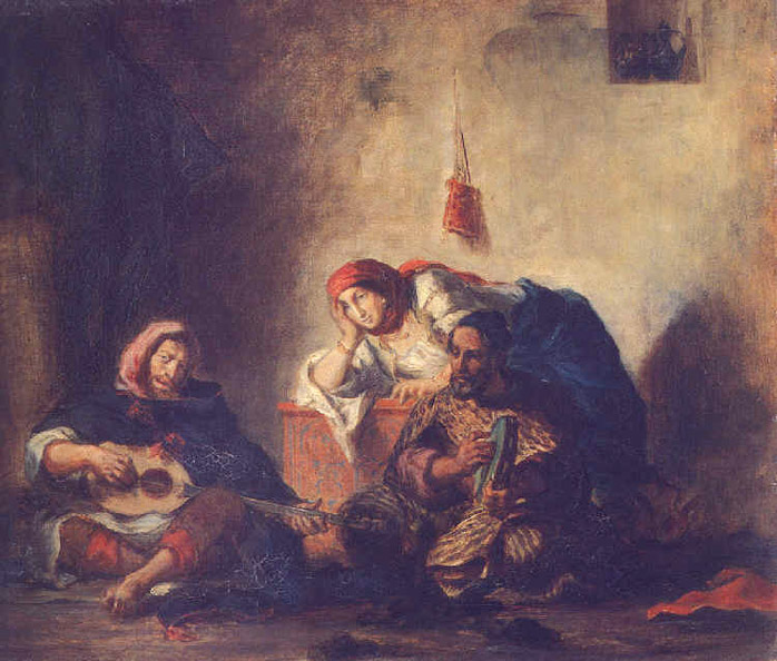 Musiciens Juifs de Mogador - Delacroix