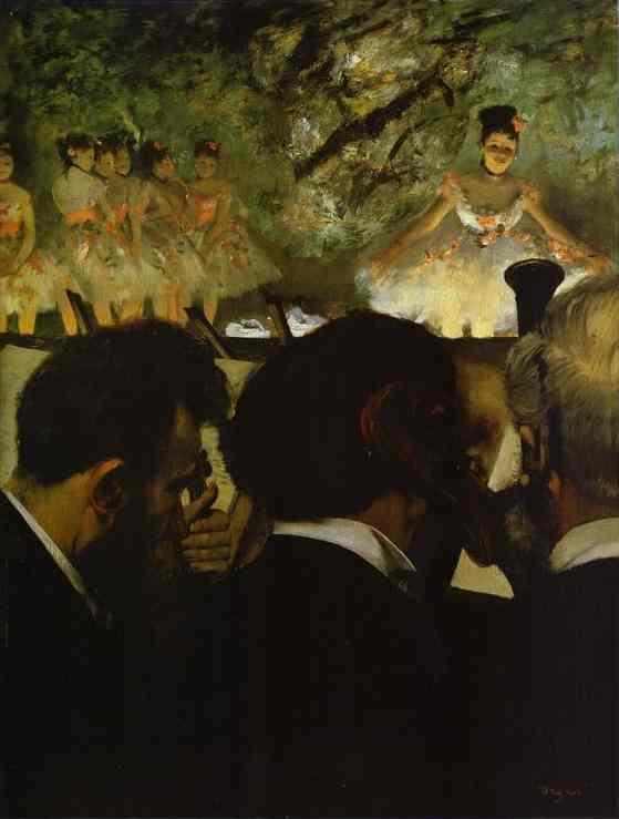 Musiciens d'orchestre - Degas
