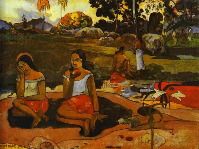 Nave Nave Moe - Gauguin