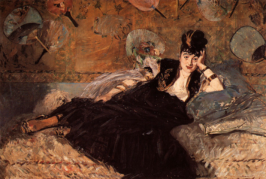 Nina de Callias - Manet