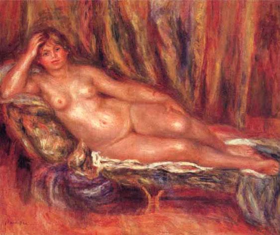 Nu couché - Renoir