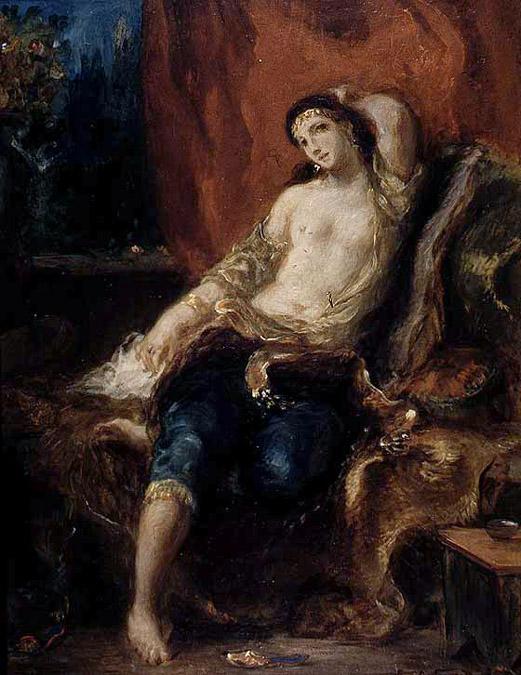 Odalisque - Delacroix
