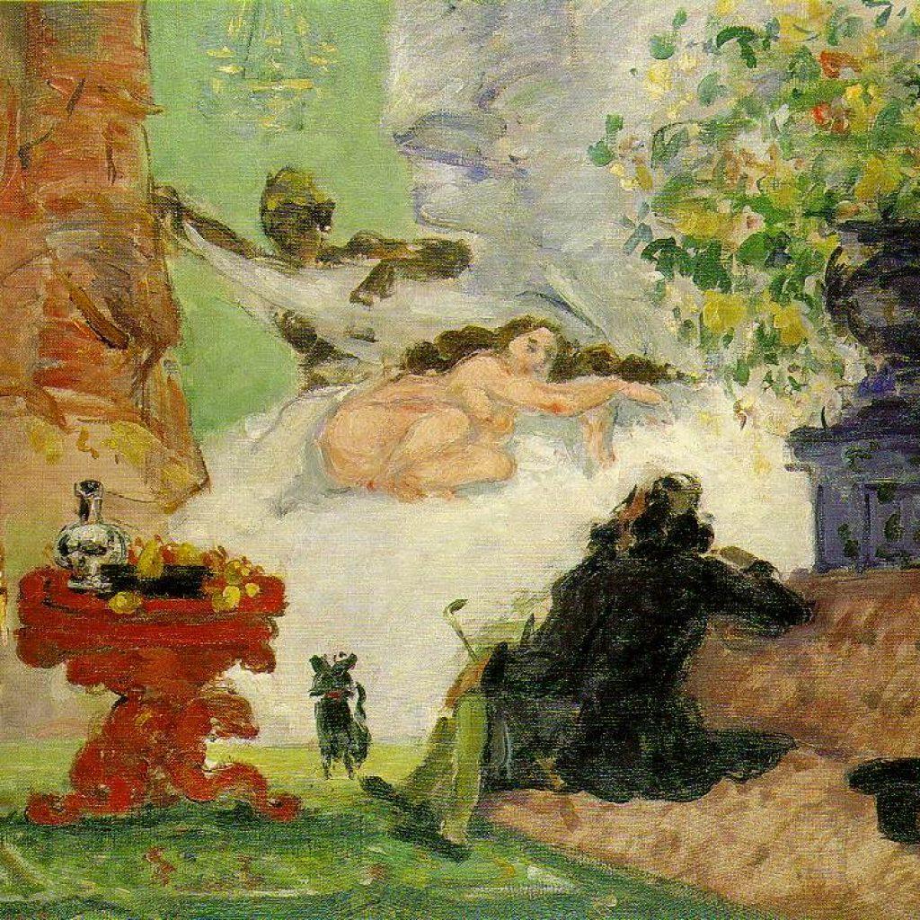 Olympia moderne - Cézanne