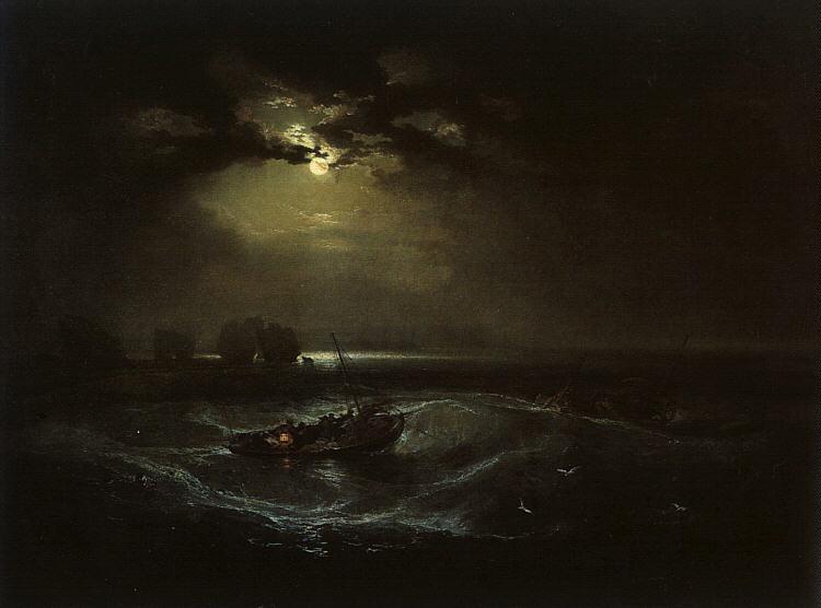 Pêcheurs en mer - Turner