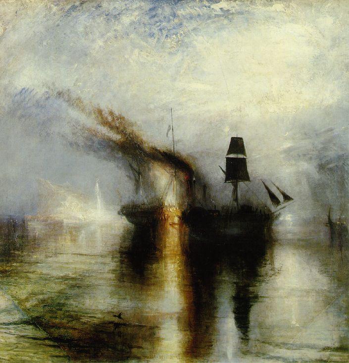 Paix - Enterrement en mer - Turner