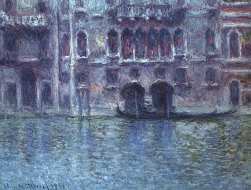 Palace de Mula à Venise - Monet
