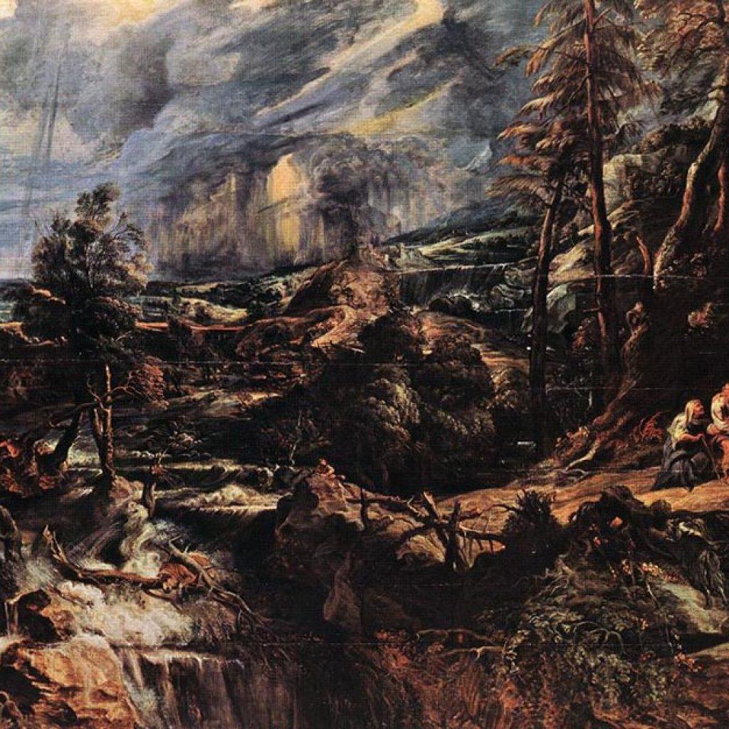 Paysage orageux - Rubens
