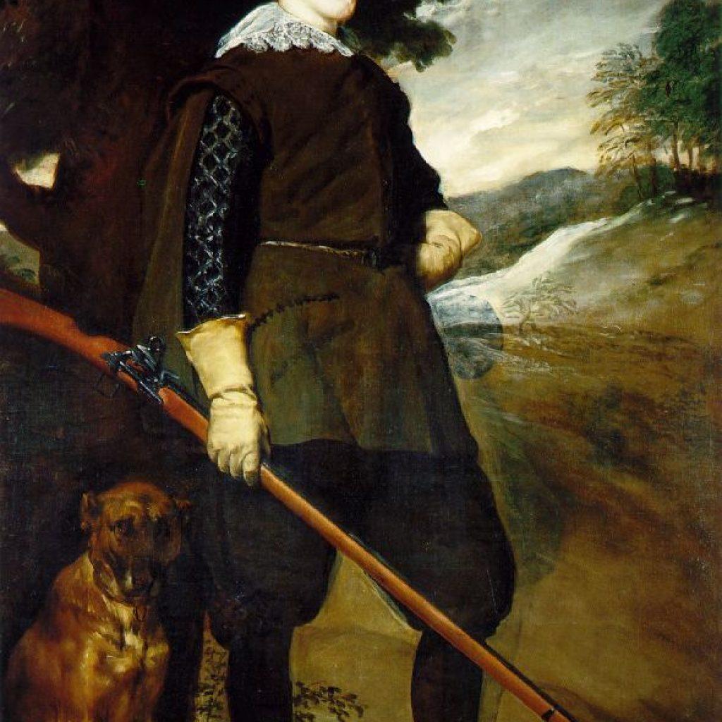Philippe IV en chasseur - Velazquez