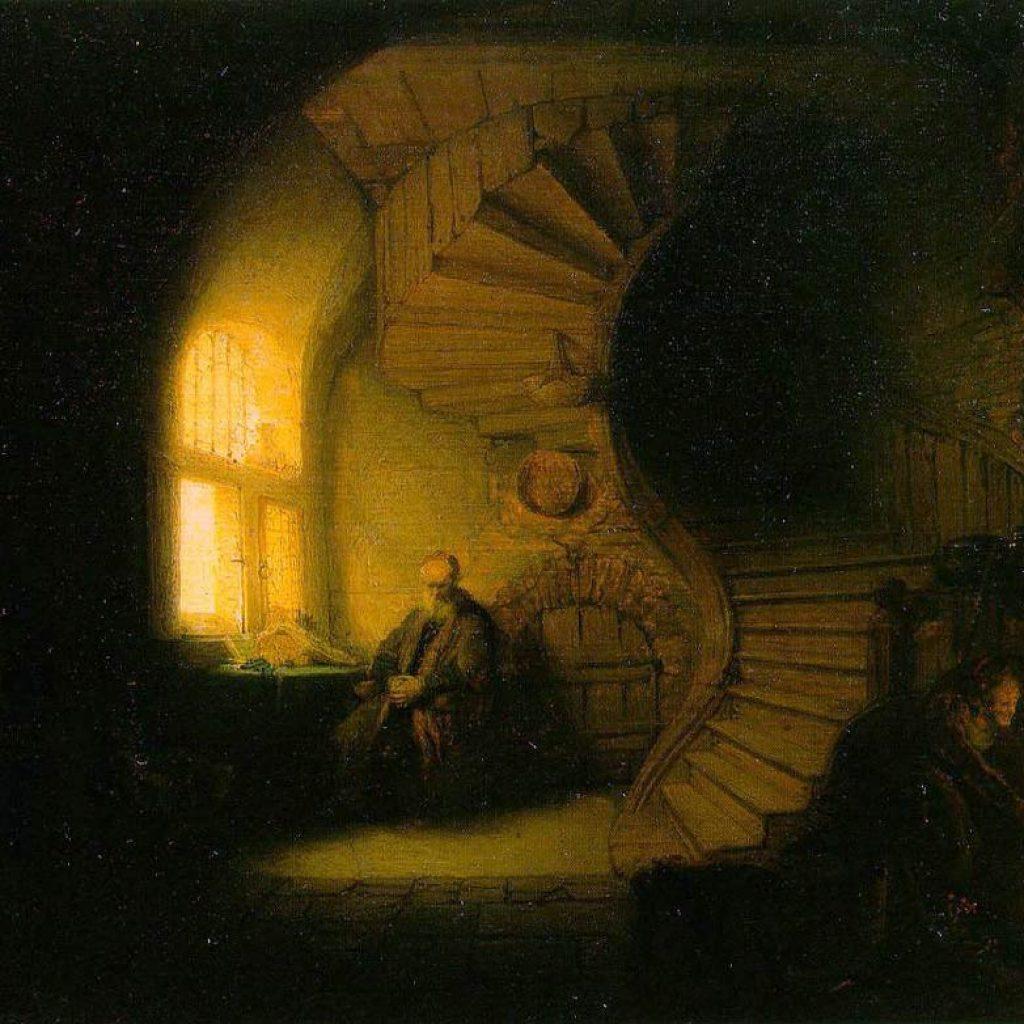 Philosophe en méditation - Rembrandt