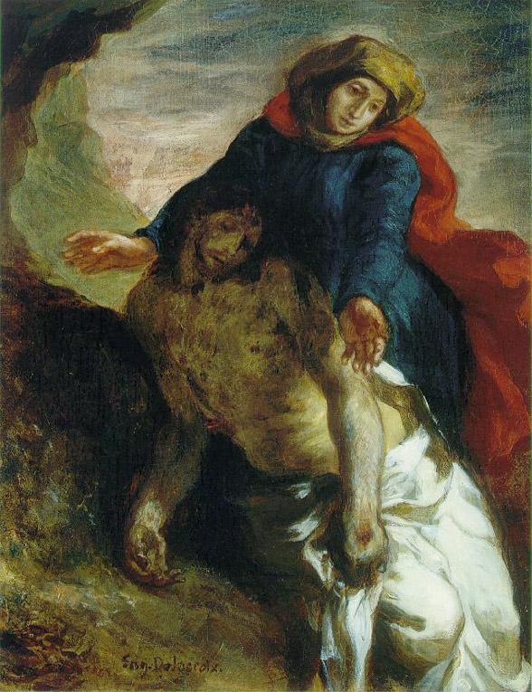 Pièta - Delacroix