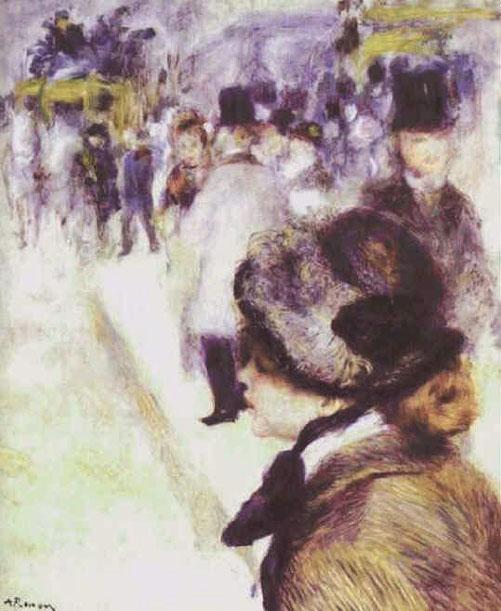 Place Clichy - Renoir