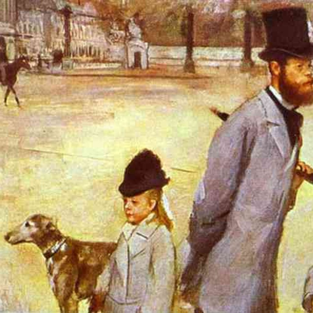 Place de la concorde - Degas