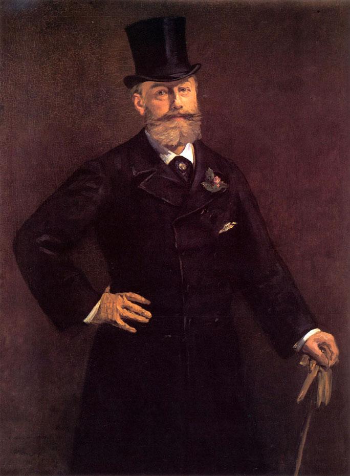 Portrait d'Antonin Proust - Manet