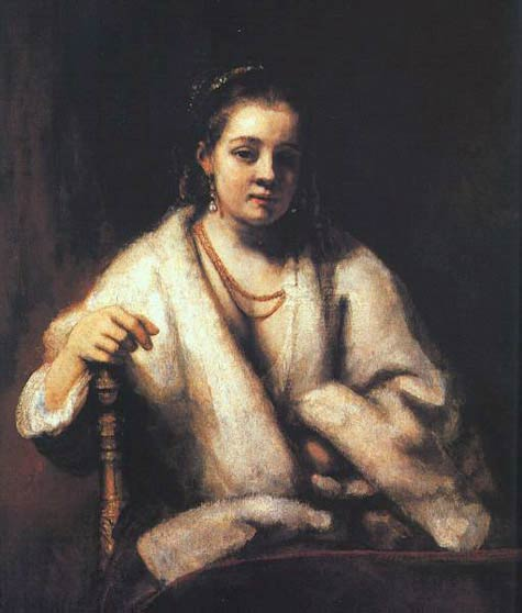 Portrait d'Hendrickje Stofells - Rembrandt