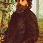 Portrait de Claude Monet - Renoir
