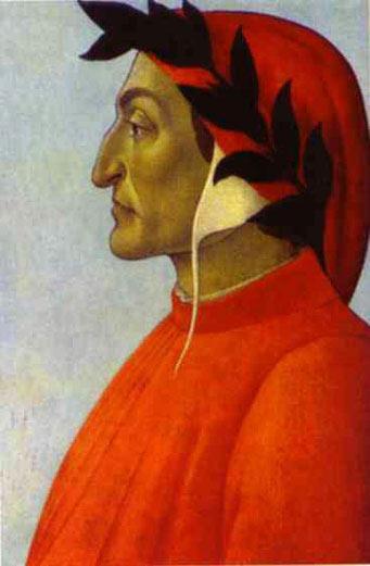 Portrait de Dante - Botticelli