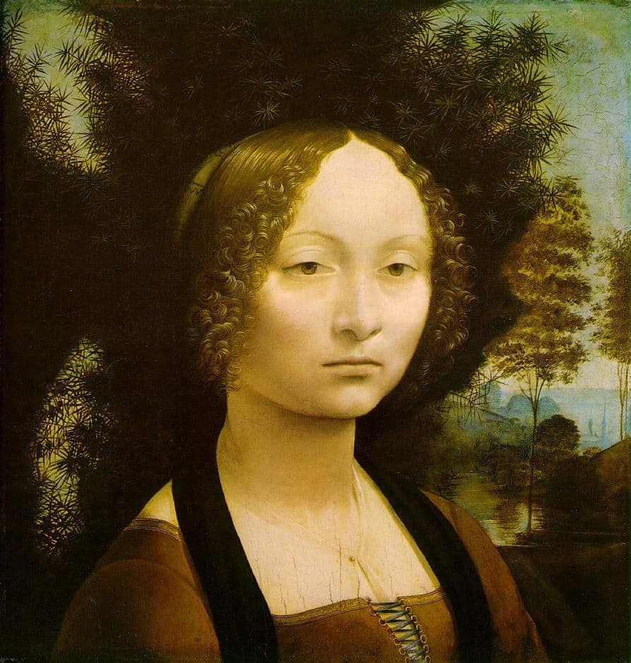 Portrait de Ginevra Benci - De Vinci