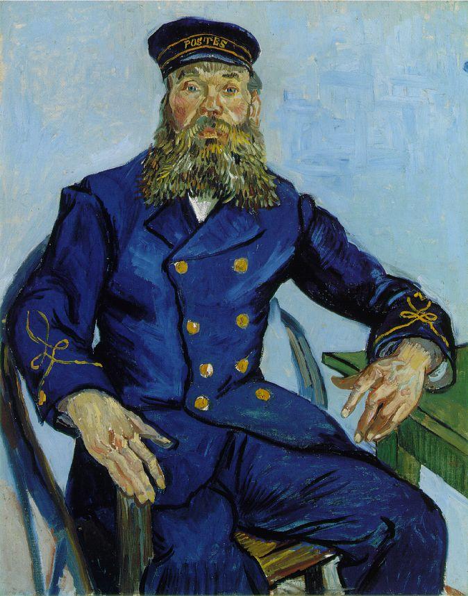 Portrait de Joseph Roulin assis - Van Gogh