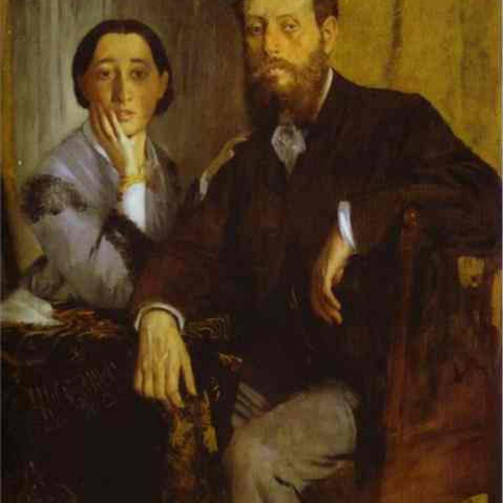 Portrait de M. et Mme Edmondo Morbilli - Degas