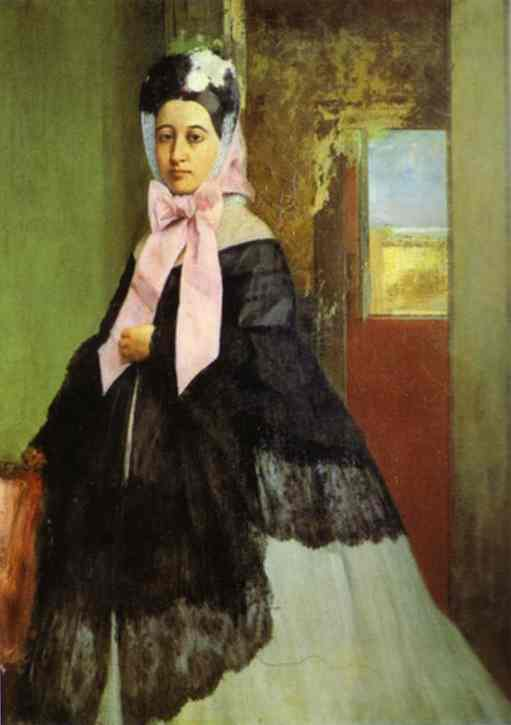 Portrait de Marguerite Degas - Degas