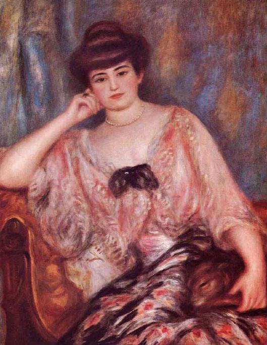 Portrait de Misia - Renoir