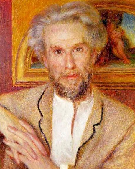Portrait de Monsieur Chocquet - Renoir