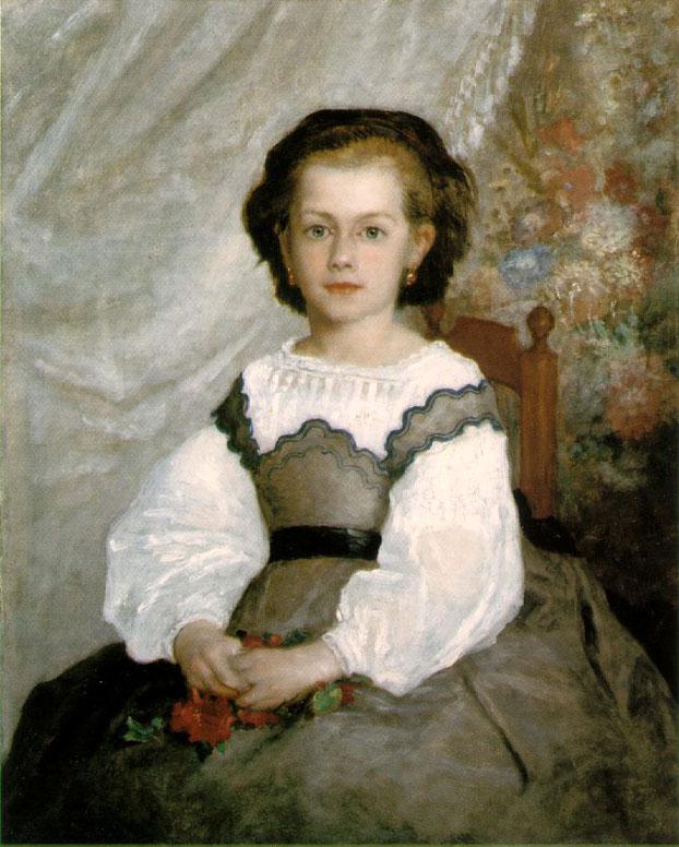 Portrait de Romaine Lacaux - Renoir