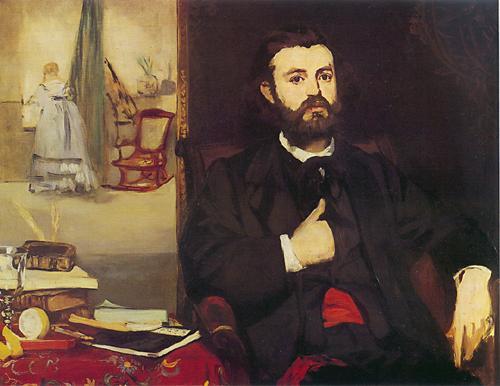 Portrait de Zacharie Astruc - Manet