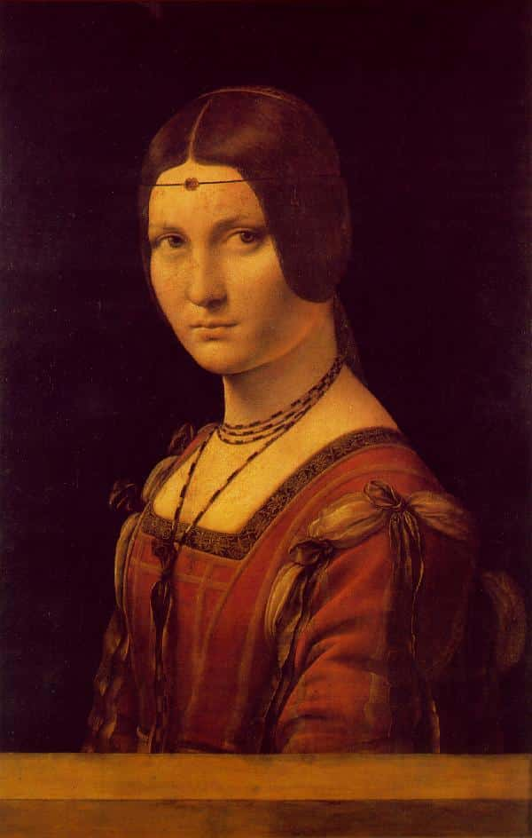 Portrait de la Belle Ferronnière - De Vinci