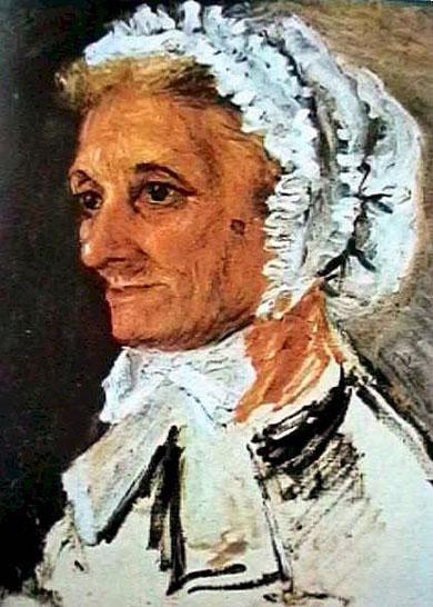 Portrait de la mère de Renoir - Renoir